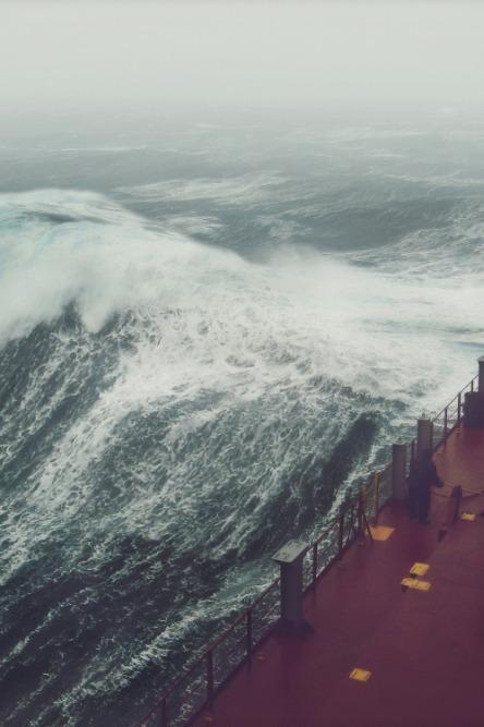 El rugido del mar