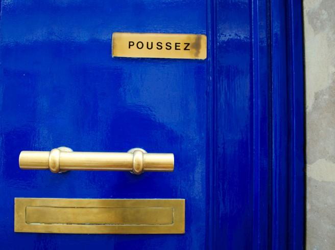 Todos los azules del mundo están en París