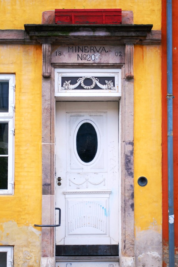 Copenhague puerta