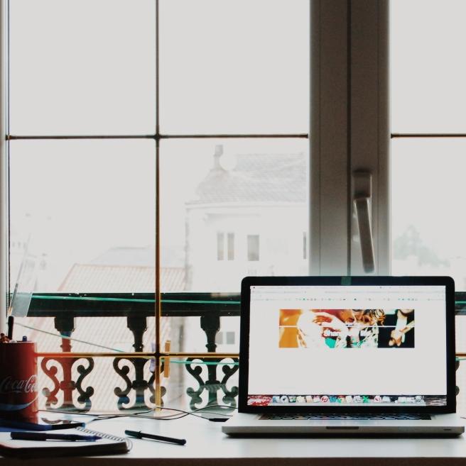 workspace in window