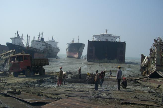 Reciclaje de barcos